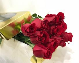Premium Long Stemmed Rose in a Box