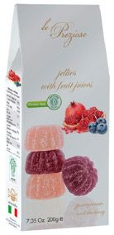 Italian Jellies With Fruit Juices