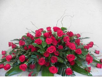 Red Rose Grandeur Spray